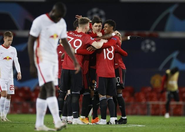Hủy diệt Leipzig, Man Utd đã sẵn sàng 'phá dớp' ở màn tiếp Pháo thủ - Bóng Đá