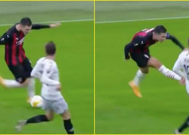 Sao Quỷ đỏ thi triển tuyệt kỹ kiến tạo khiến fan AC Milan 'phát rồ' (Dalot trivela kiến tạo) - Bóng Đá