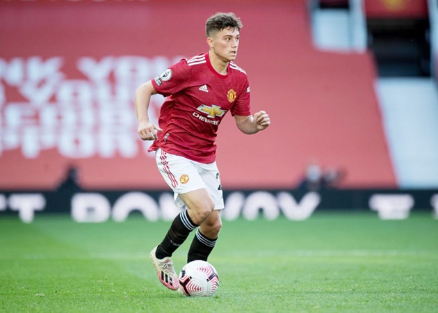 Daniel James 'sticking in there' at Manchester United despite lack of playing time - Bóng Đá