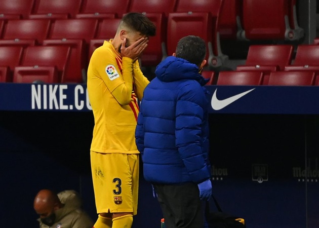 Gerard Piqué could miss four to six months with knee injury - report - Bóng Đá