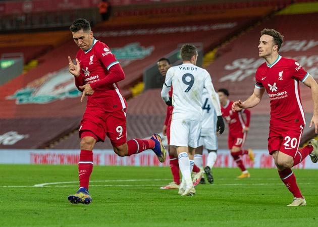 10 con số ấn tượng trận Liverpool 3-0 Leicester: 'Show diễn' của Jota - Bóng Đá