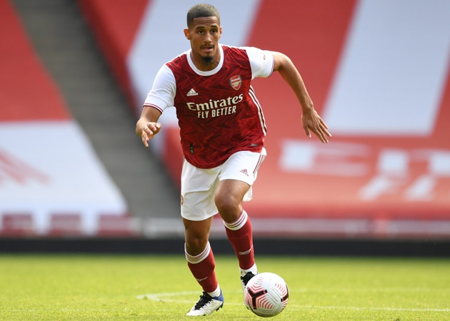 'Saliba is welcome back at Saint Etienne' - Arsenal outcast encouraged - Bóng Đá