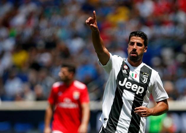 Sami Khedira doubles down on Premier League transfer stance amid Man Utd links - Bóng Đá