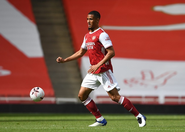 A meeting between Arsenal & William Saliba last week saw both parties agree to be open to accepting both permanent & loan - Bóng Đá