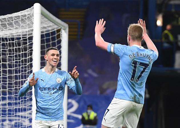 10 con số 'kinh hoàng' trận Chelsea 1-3 Man City: Ngả mũ trước De Bruyne - Bóng Đá