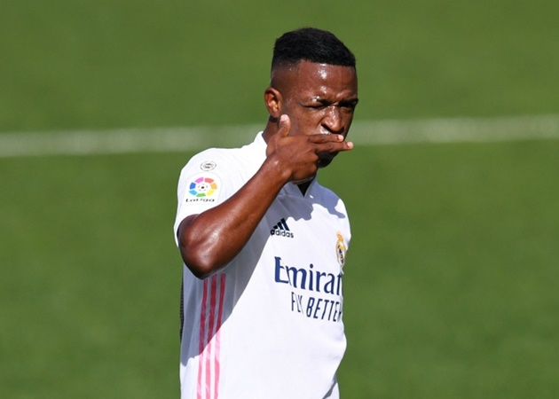 Arsenal are 'still interested' in Brazilian winger Vinicius Junior, who has been 'on Mikel Arteta's agenda' for some time - Bóng Đá