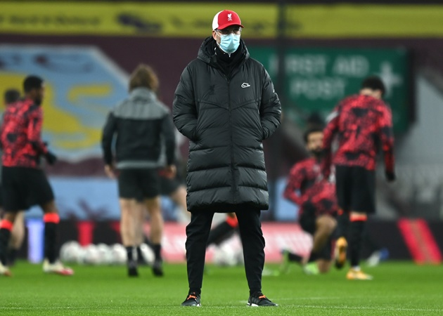 Jurgen Klopp reveals Liverpool training plans for Manchester United clash after Aston Villa FA FA Cup win - Bóng Đá