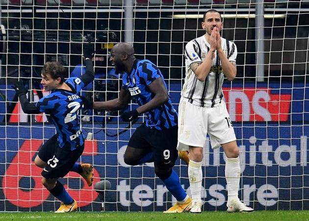 10 con số thú vị trận Inter 2-0 Juve: 'Mad dog' của Conte; Nerazzurri phá dớp - Bóng Đá