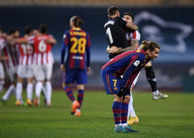 Barcelona dressing room unhappy with Griezmann's post match comments - Bóng Đá
