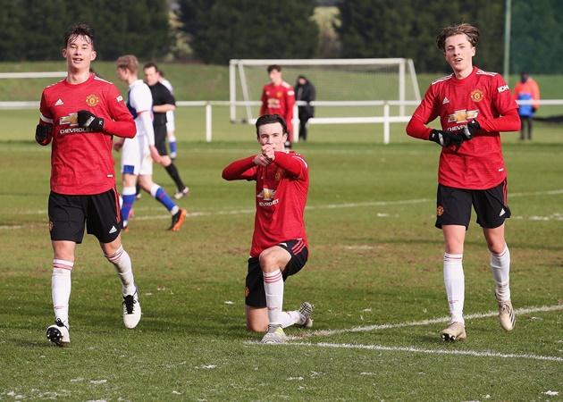 Charlie McNeill 8 goals in 9 games for Man Utd - Bóng Đá