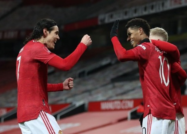 Ole Gunnar Solskjaer sends message to Anthony Martial and Marcus Rashford over Manchester United team-mate - Bóng Đá