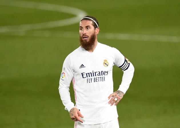 PSG offer Real Madri's Sergio Ramos three-year deal - Bóng Đá