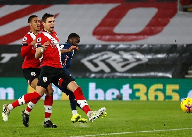 5 điểm nhấn trận Southampton 1-3 Arsenal: 'Song sát' của Pháo thủ; Chủ nhà tự hủy - Bóng Đá