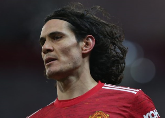 Edinson Cavani has made a big impression in the #mufc dressing-room, helping the young forwards in the squad, including Rashford and Greenwood - Bóng Đá