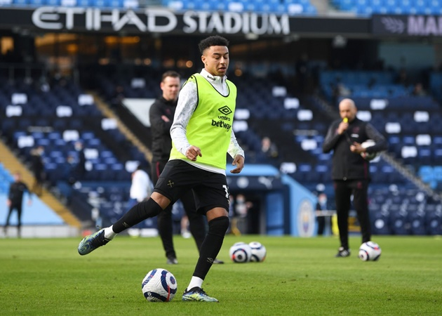 Before today, Man City were the team that Jesse Lingard had faced the most without recording a single goal or assist (9 games). - Bóng Đá