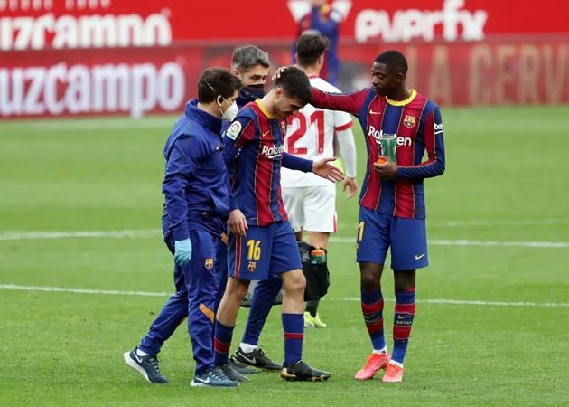 Official: Barcelona confirm Pedri muscular injury - Bóng Đá
