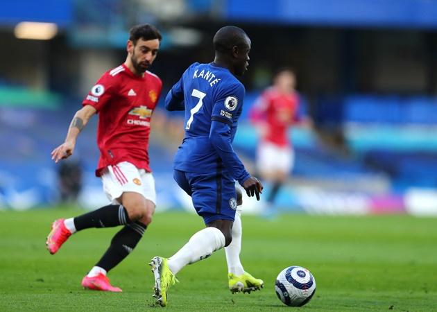 Điểm nhấn Chelsea 0-0 Man Utd: 'Cày nát' tuyến giữa; Thất vọng Bruno - Bóng Đá