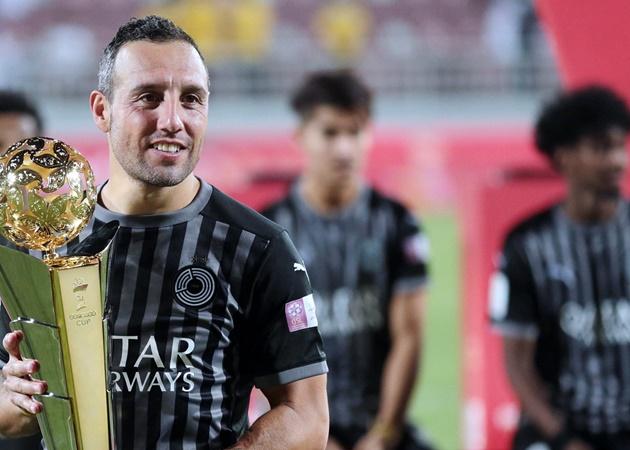 Santi Cazorla on helping his club Al-Sadd to win the Qatar Stars League in his first season at the club. - Bóng Đá