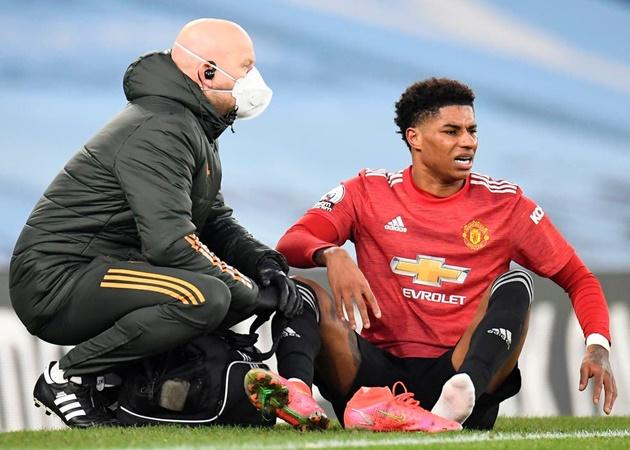 Solskjær on Rashford's injury:
