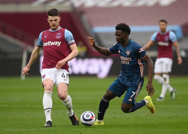 TRỰC TIẾP West Ham 3-2 Arsenal (H2): Moyes đấu trí với Arteta - Bóng Đá
