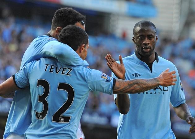 Ngày Aguero dứt điểm nhấn chìm M.U, Man City ra sân với đội hình nào? - Bóng Đá