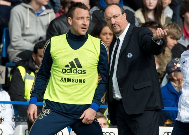 Chelsea legend John Terry 'never got on with' Rafa Benitez – and had to ban him from talking about Liverpool - Bóng Đá