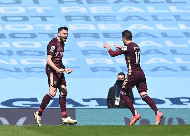 10 con số đặc biệt trận Man City 1-2 Leeds: Pep 'cạn lời' với hàng công - Bóng Đá
