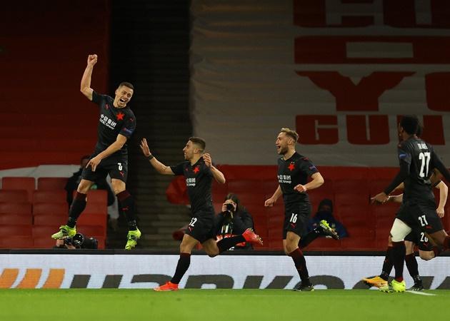 ĐHTB tứ kết lượt đi Europa League: 3 sao Man Utd; 'Ác mộng' Arsenal - Bóng Đá