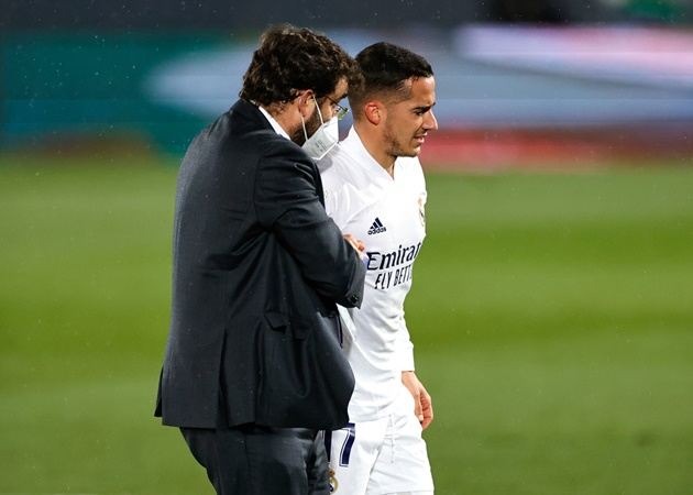 Official: Lucas Vazquez out until the end the season - Bóng Đá