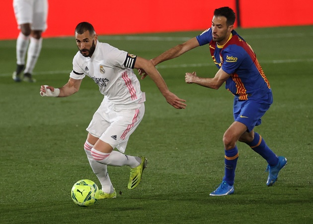 Điểm nhấn trận Real 2-1 Barca: Messi 'tàng hình'; Sai lầm chí mạng - Bóng Đá