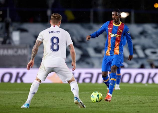 Siêu phẩm đánh gót, Real nhấn chìm Barca đánh chiếm ngôi đầu La Liga - Bóng Đá