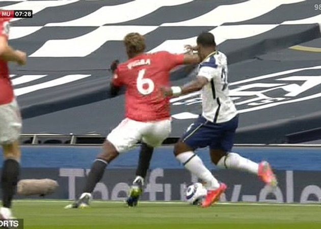 Mourinho: We were unlucky because maybe Pogba should get a red card for an elbow on Serge Aurier - Bóng Đá