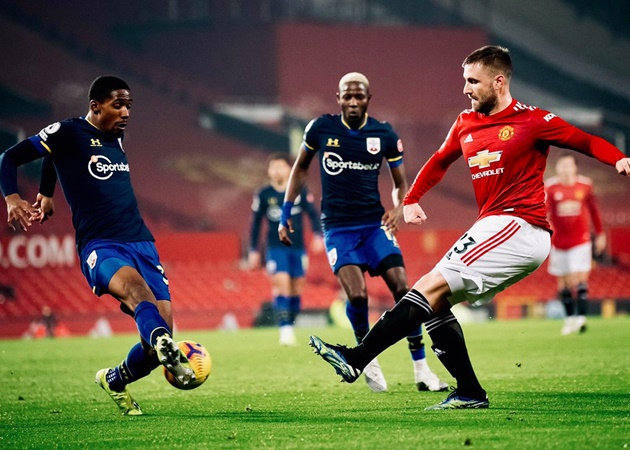 Shaw: then I would have to say Ashley Cole [was the best left-back] - Bóng Đá