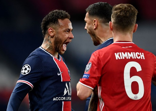 Neymar on celebration ahead Kimmich - Bóng Đá