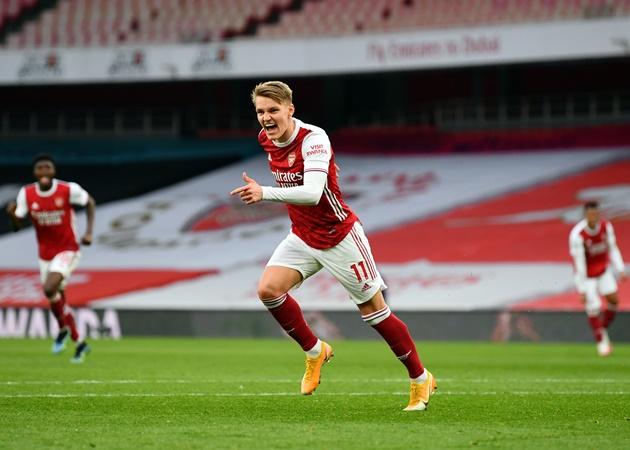 5 điểm nhấn trận Arsenal 1-1 Fulham: Nỗi nhớ Odegaard; 'Kẻ đóng thế' hoàn hảo - Bóng Đá
