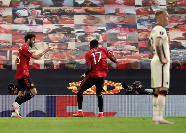 TRỰC TIẾP Man Utd 5-2 AS Roma (H2): Pogba lấy công chuộc tội - Bóng Đá