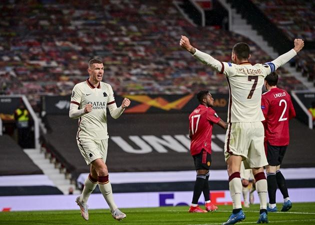TRỰC TIẾP Man Utd 1-2 AS Roma (H1): Edin Dzeko tỏa sáng - Bóng Đá