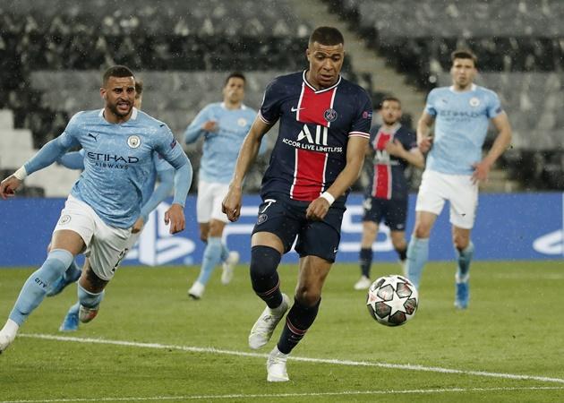 Mauricio Pochettino is optimistic Kylian Mbappe WILL be fit for PSG's Champions League semi-final - Bóng Đá