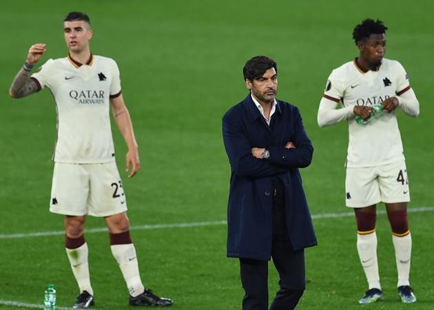 CHÍNH THỨC! Bị Man Utd hủy diệt, AS Roma ra quyết định chớp nhoáng với HLV - Bóng Đá
