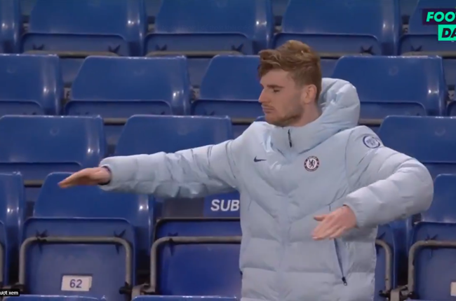 Timo Werner DANCES after Chelsea beat Leicester but striker bemoans 'unluckiest season ever' with two goals ruled out - Bóng Đá