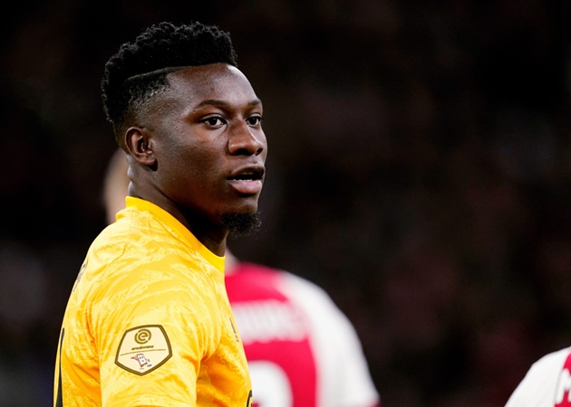Journalist Fabrizio Romano comments on Arsenal's reported interest in Ajax goalkeeper Andre Onana - Bóng Đá