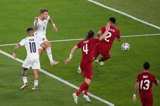 10 con số ấn tượng trận Thổ Nhĩ Kỳ 0-3 Italia: Tâm điểm Jorginho - Bóng Đá