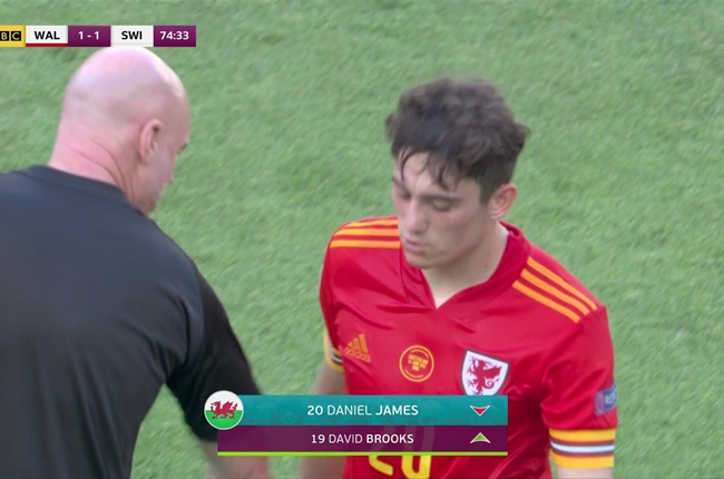 Wales caretaker boss Rob Page plays down Daniel James' angry reaction to being taken off against Switzerland - Bóng Đá
