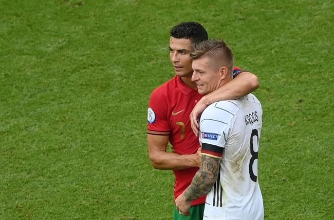 Dàn công thần Real Madrid quây quần sau trận Bồ Đào Nha 2-4 Đức - Bóng Đá