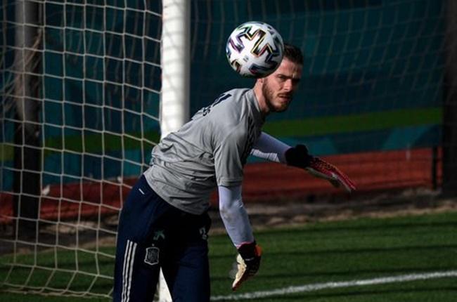 De Gea 'practising penalties' on Spain duty - Bóng Đá