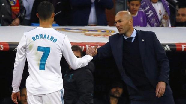Zidane: Tôi đã nói là hãy cảnh giác với Ronaldo - Bóng Đá