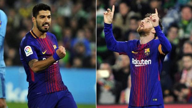 Phong độ ghi bàn của Messi và Suarez khủng khiếp đến mức nào - Bóng Đá