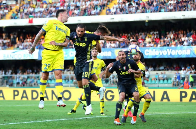 5 điểm nhấn Chievo Verona 2-3 Juventus: Ronaldo trong nỗi nhớ Benzema; Tinh thần Juventino - Bóng Đá
