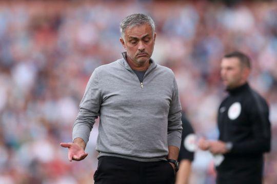 Mourinho trước áp lực lớn.