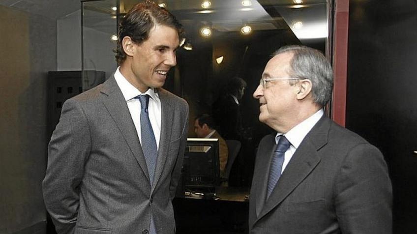 Perez: Nadal xứng đáng là chủ tịch Real - Bóng Đá